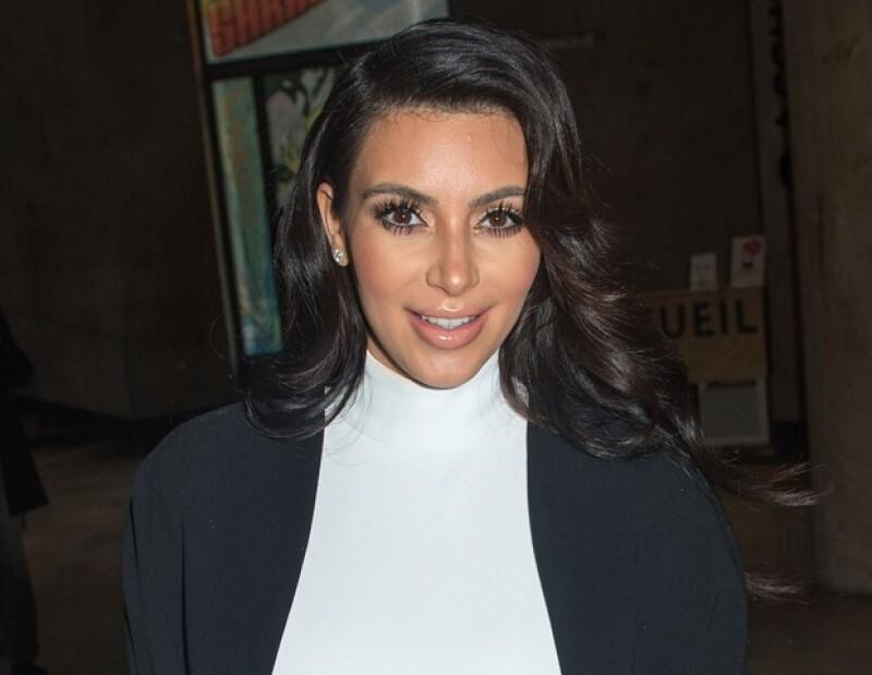 Kim continúa bajando de peso.