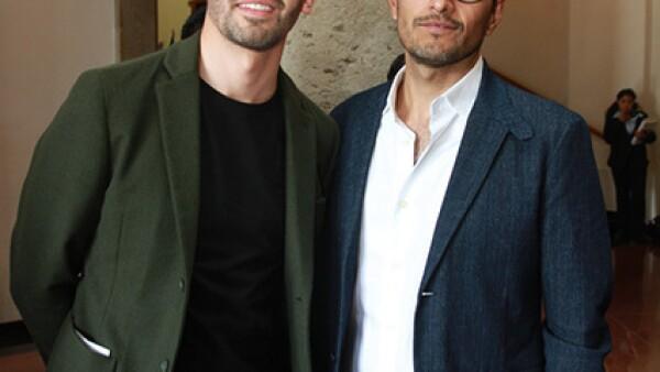 Álvaro Gutiérrez e Igor Ojeda