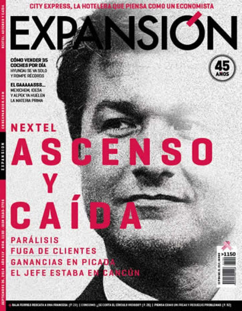 La revista circula del 26 de septiembre al 9 de octubre de 2014. (Foto: Víctor de la Cueva / Revista Expansión)