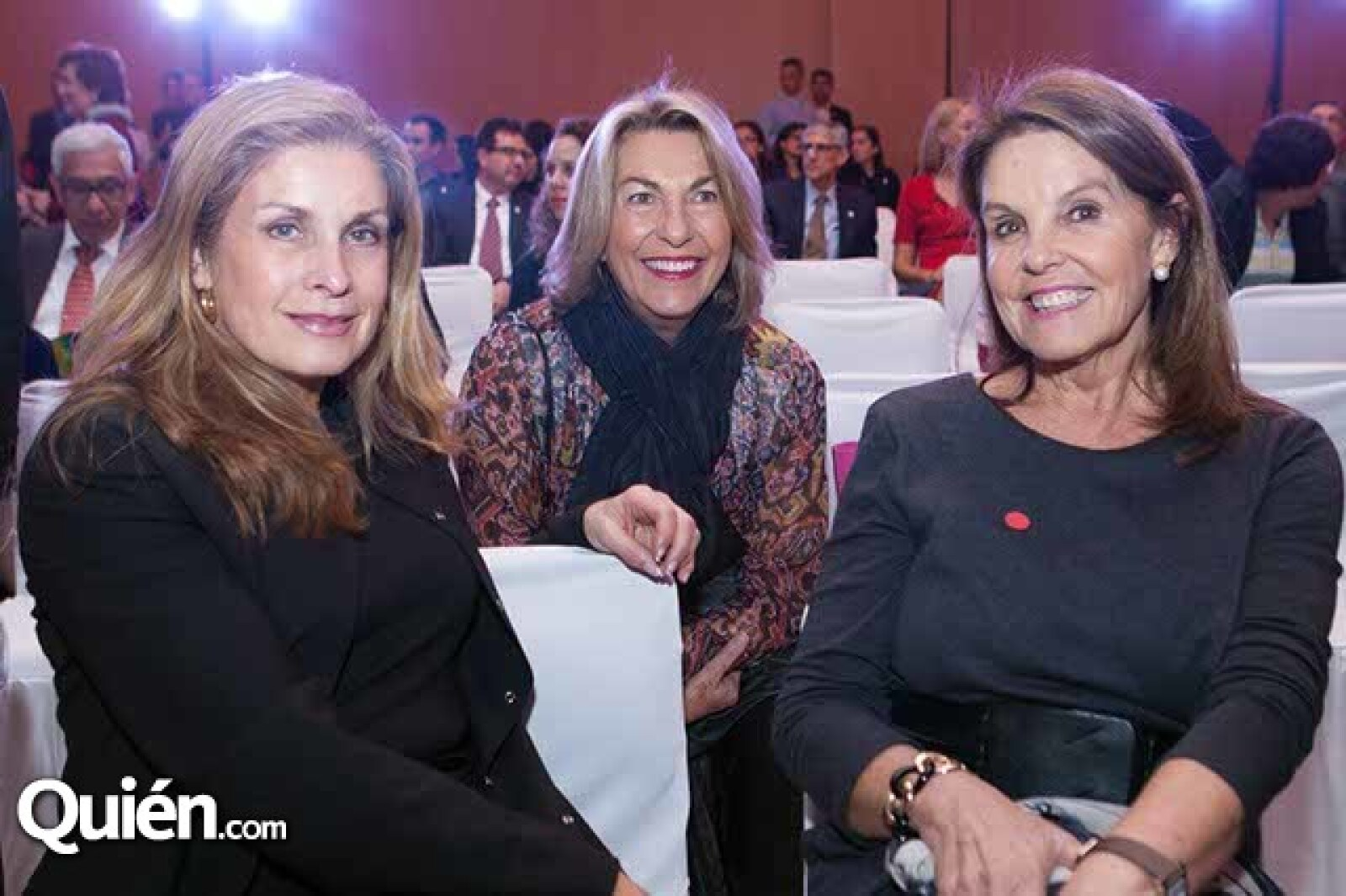 Gabriela Kalb,Marie Thérèse Arango y Marinela Servitje