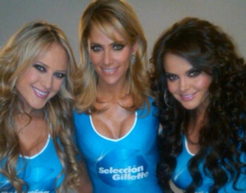 Vanessa, Inés y Marisol trabajan por primera vez juntas en la campaña de P&G.