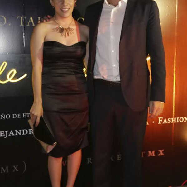 Bárbara Hagman y Arturo Peris