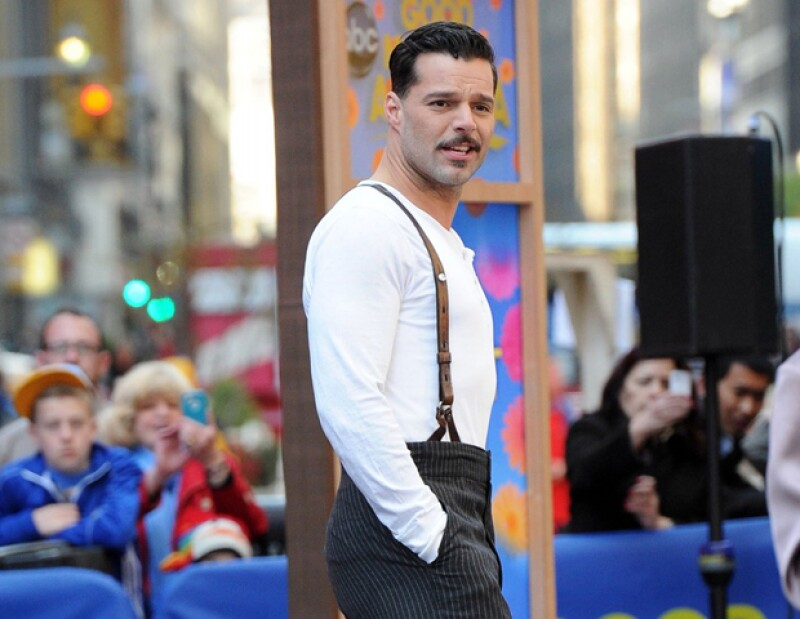 En la entrevista, Ricky también habló de su reciente mudanza a la ciudad de Nueva York, donde trabaja en el musical &#39Evita&#39, basado en la vida de la argentina Eva Perón.