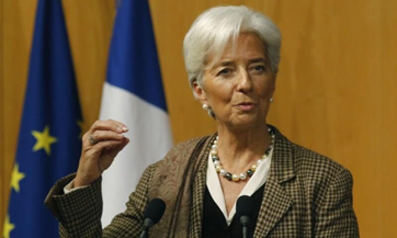 Lagarde descartó que haya un riesgo de un quiebre del euro. (Foto: AP)