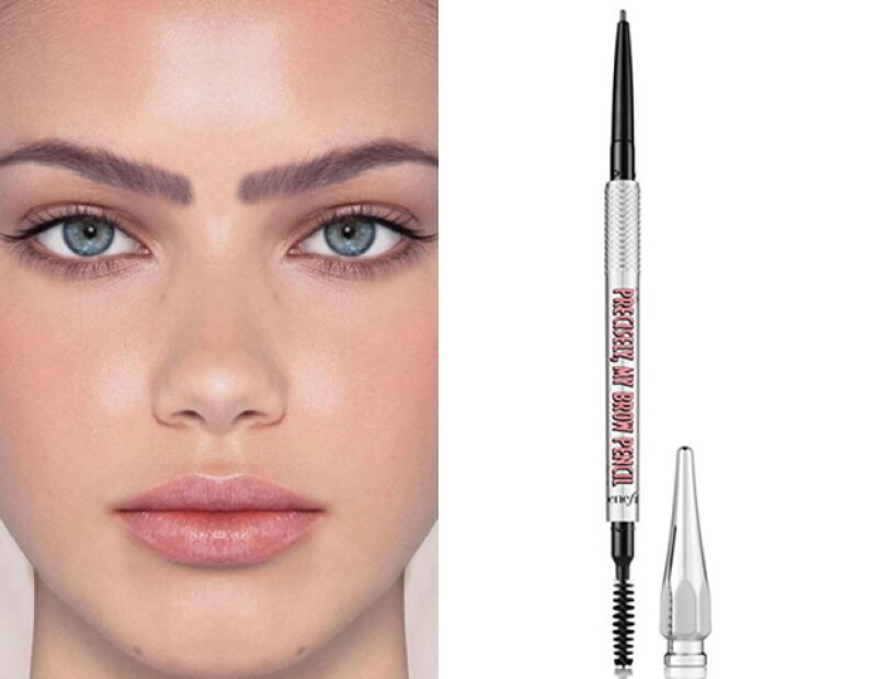 Benefit Cosmetics: Precisely, My Brow Pencil Ultra Fine Shape and Define. 440 pesos.