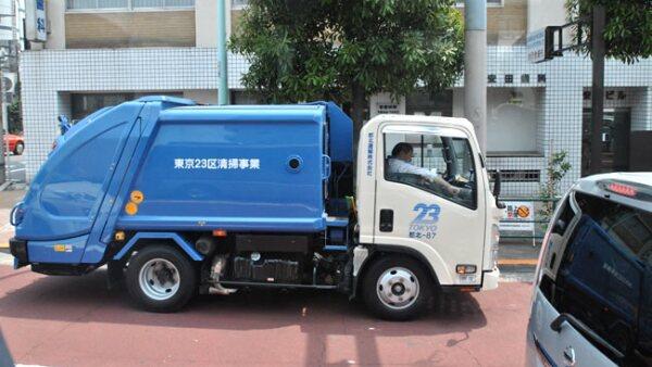 En Jap�n est�n definidos los d�as de la semana, hora y lugar de recolecci�n de basura por cada tipo