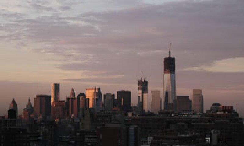 La torre WTC 1 será el edificio más alto del hemisferio occidental.  (Foto: AP)