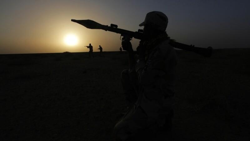 Iraq conflicto fuerzas armas