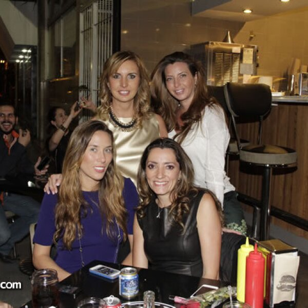 Tania Amiga,Fortuna Yedit,María Fernanda Uhthoff,Paulina Carasa
