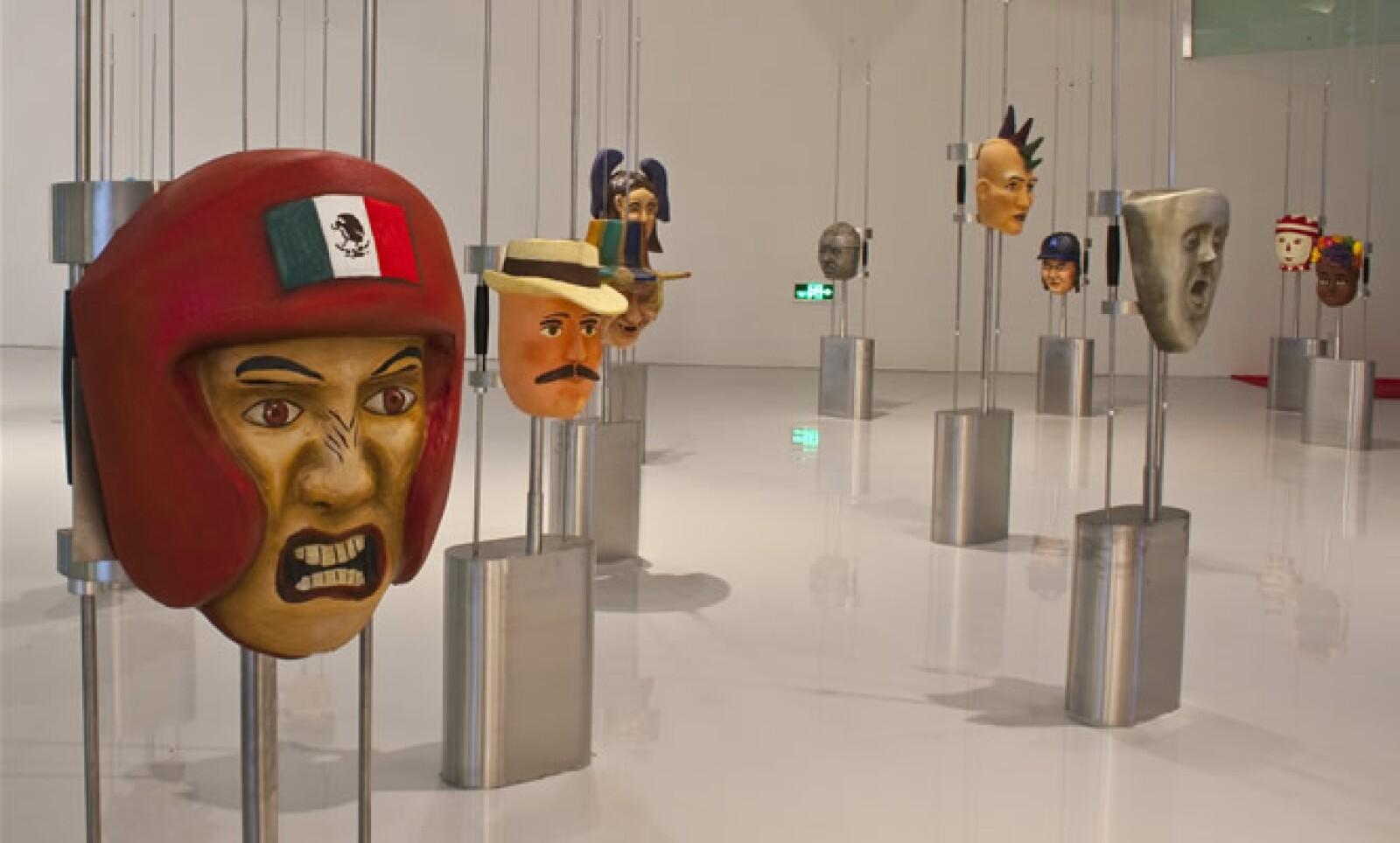 Las máscaras, uno de los distintivos de nuestro país, también estarán presentes e esta exposición.