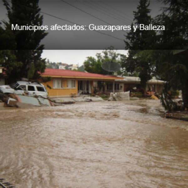 chihuahua inundaciones