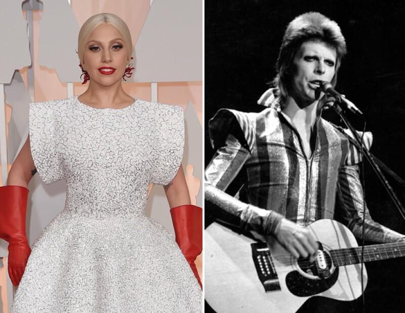 Lady Gaga será la encargada de homenajear a David Bowie.