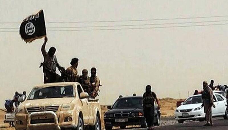 ISIS combatientes rebeldes