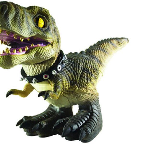 México capta más de 1,000 millones de dólares al año por ventas de juguetes, asegura la fabricante de la muñeca Barbie. En la imagen, D-Rex, una mascota de la prehistoria.
