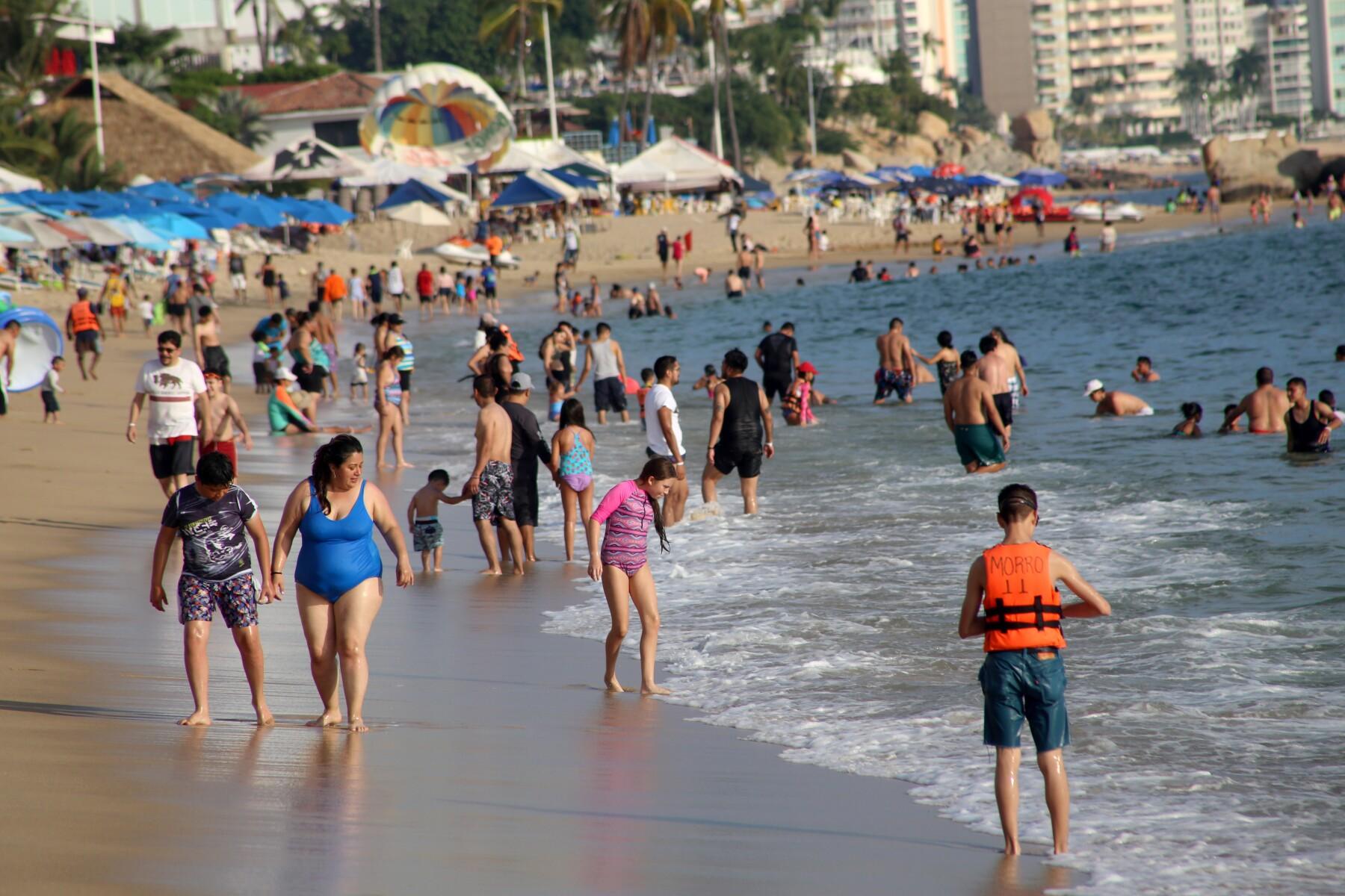 Playas de Acapulco en 2019