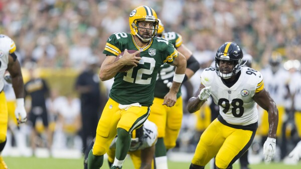 Aaron Rodgers Packers contrato NFL Green Bay