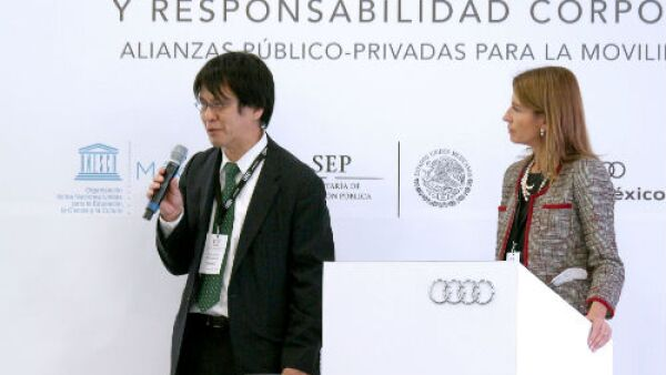 Hiromichi Katamaya, Unesco