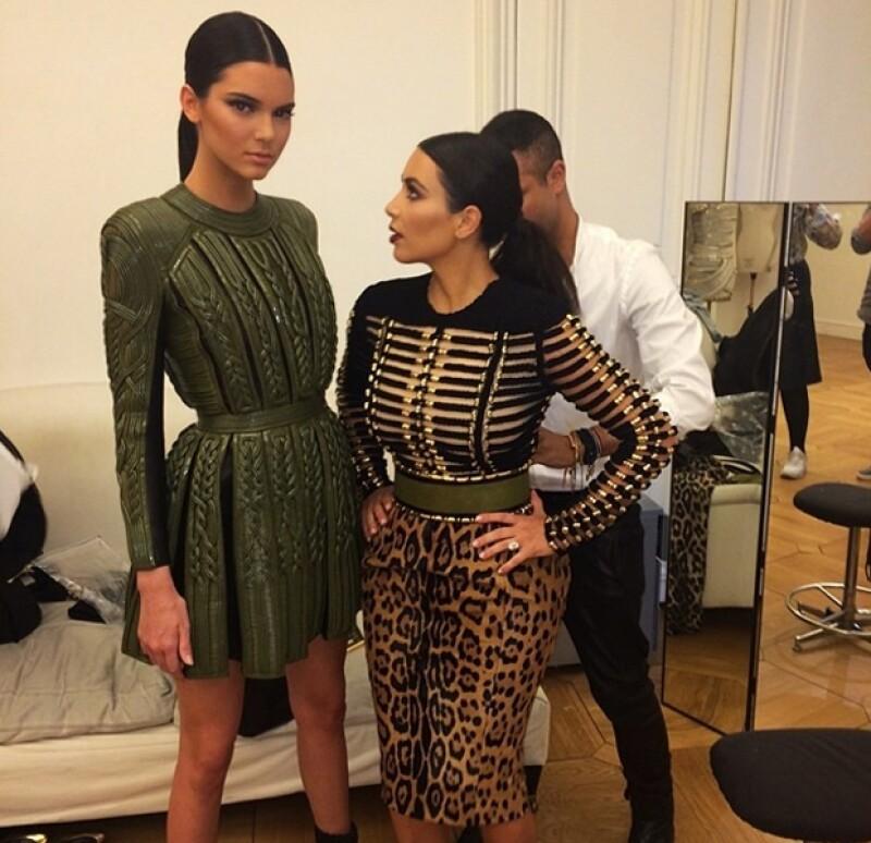 La actriz y la socialité acudieron a la presentación de la colección de Haute Couture otoño invierno 2014-2015 del emblemático diseñador italiano, uno de sus frandes favoritos.
