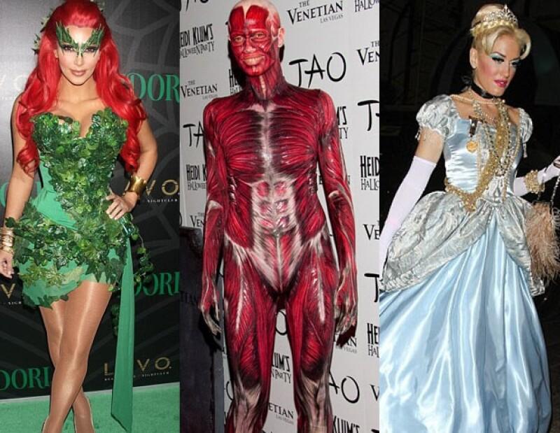 Kim Kardashian, Heidi Klum y Gwen Stefani.