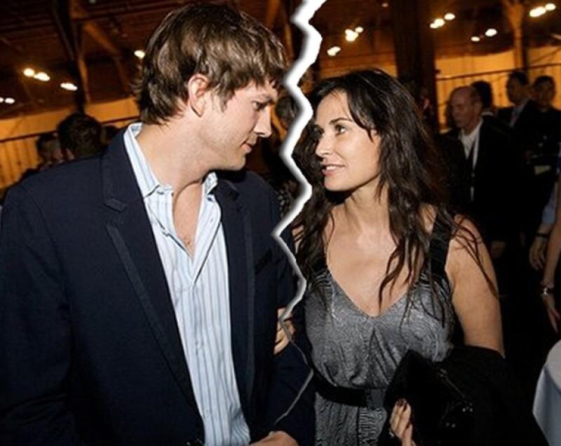 Demi y Ashton se casaron en 2004, y conformaban una de las parejas más populares del espectáculo.