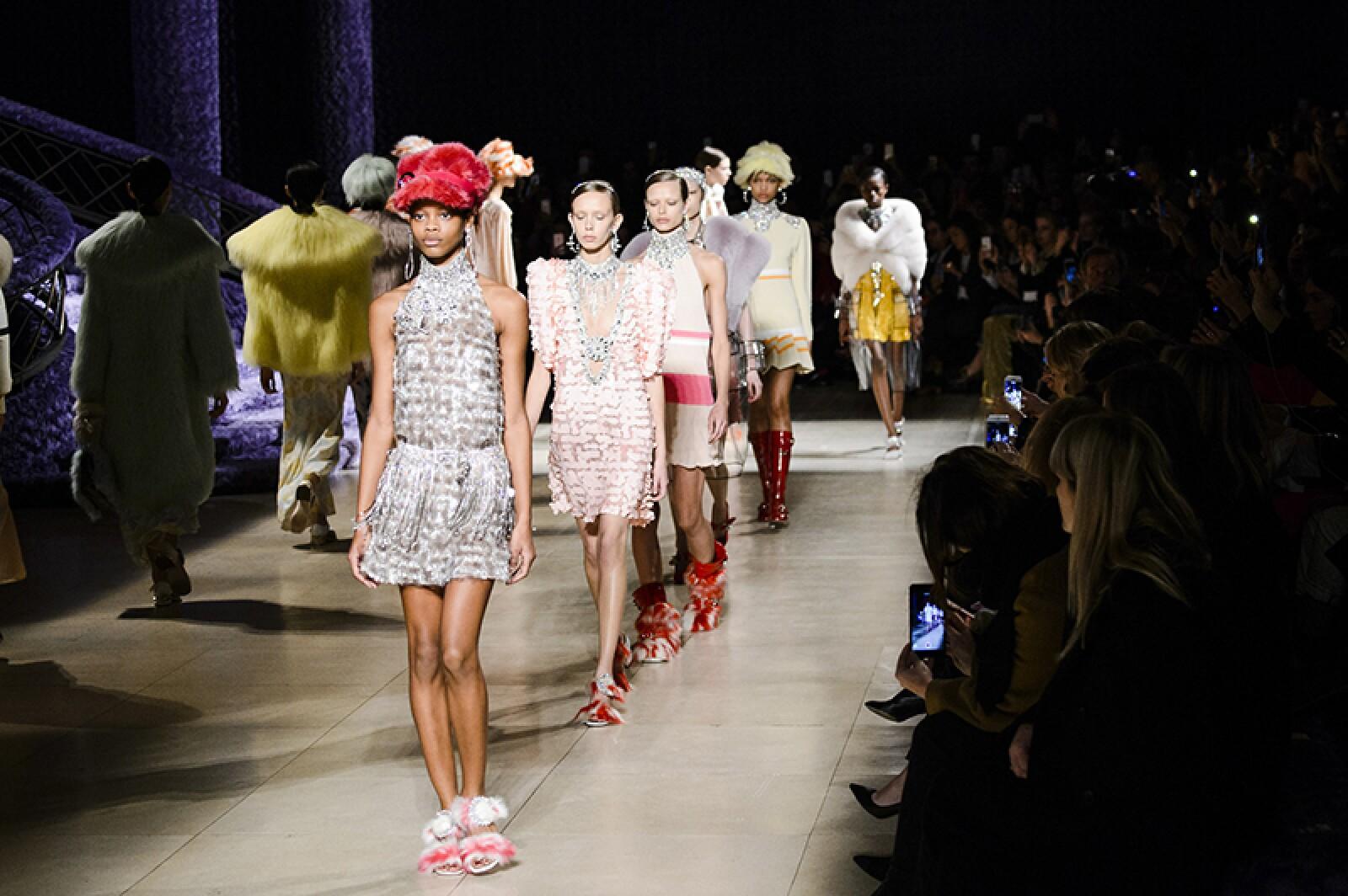 Prada show, Runway, Spring Summer 2019, Milan Fashion Week, Italy - 20 Sep 2018