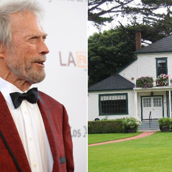 Clint Eastwood es amante del pintoresco pueblo de Carmel, en California, y cuando se enteró que derrumbarían este rancho para construír un condo, el actor lo compró y lo convirtió en el Mission Ranch Hotel.