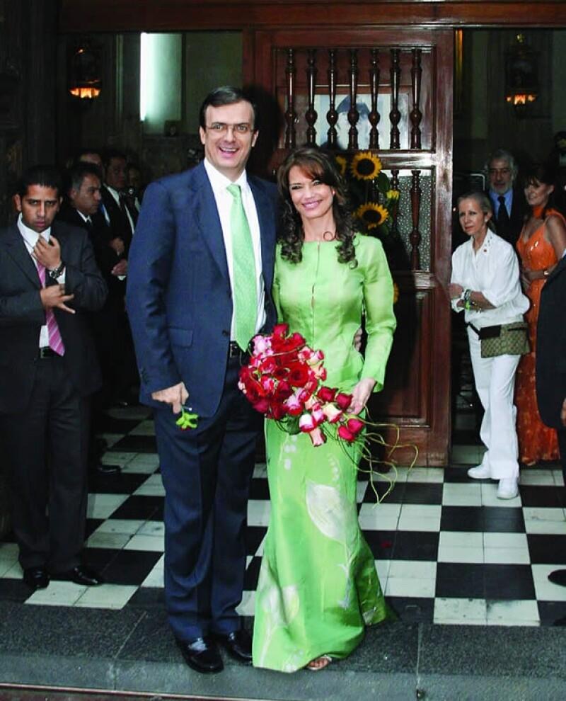 Marcelo y Mariagna se casaron en julio del 2006. Aquí el día de su boda.
