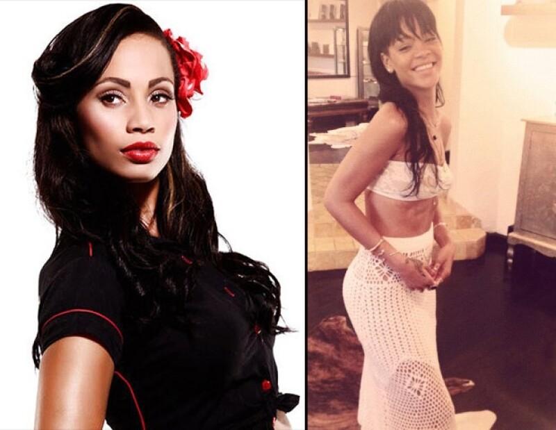 La cantante de Barbados es la actual imagen de Armani, por ello grabó un comercial donde muestra lo que muchos aseguran es su cuerpo, pero al parecer esa silueta no es la de ella.