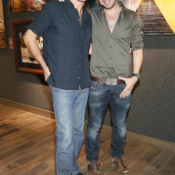 Leonardo García y Pepe Soho