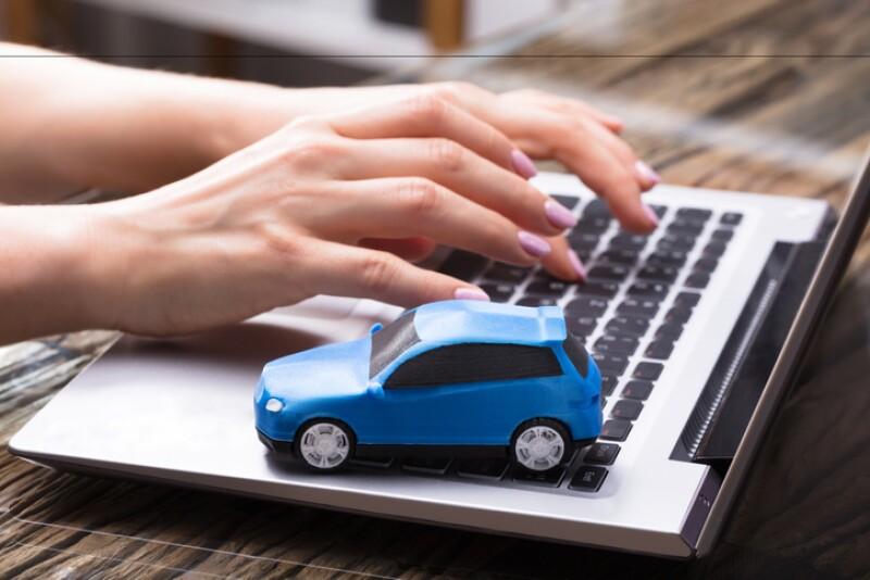 Auto por internet