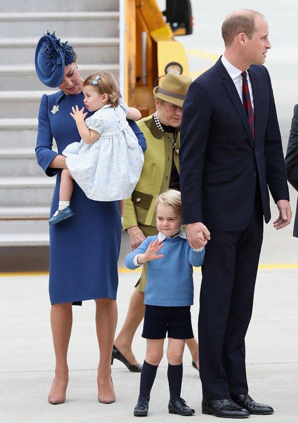 Kate, William, George, Charlotte