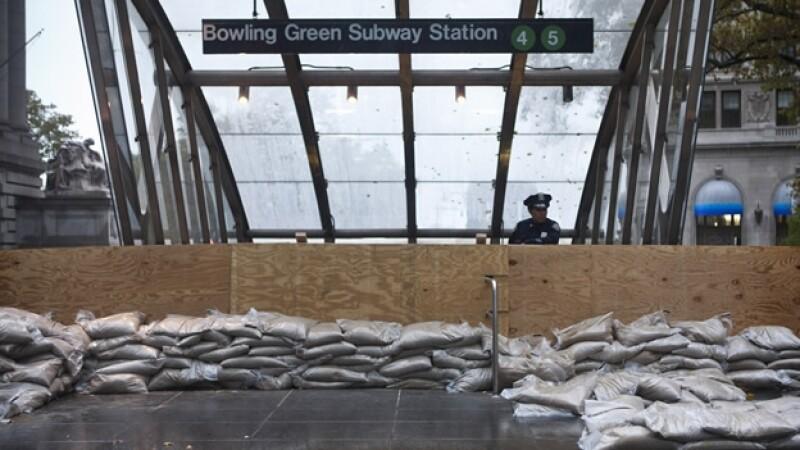 metro nueva york sandy