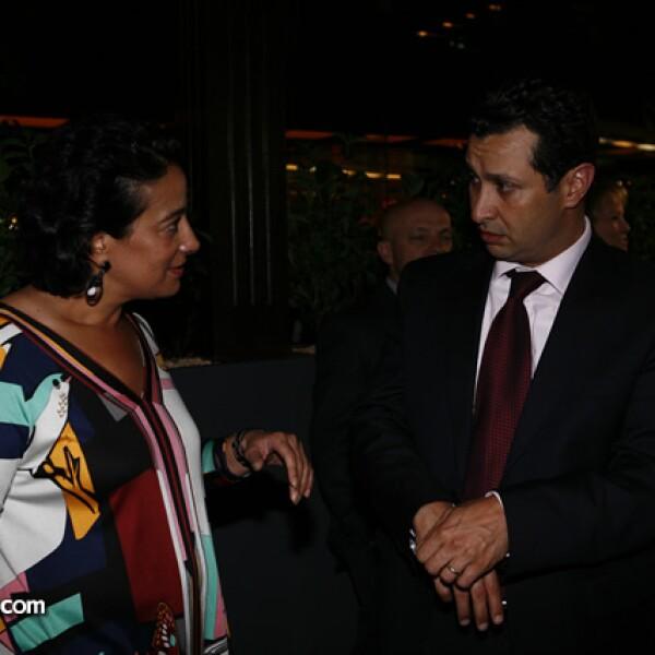 Alma Salem y Héctor Chamlati