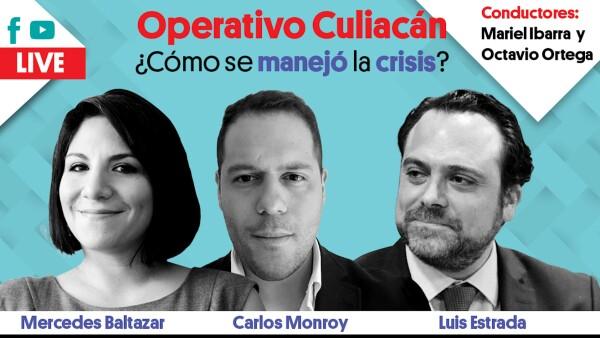 Operativo Culiacán ¿Cómo se manejó la crisis? | #EnVivo