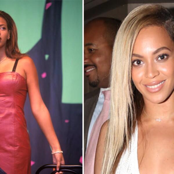 """Vaya que a Beyoncé le queda la canción """"I´m a Survivor"""" pues desde su época en Destiny´s Child a su etapa como solista, la cantante se ha caracterizado por sus diversos looks, especialmente en el pelo."""