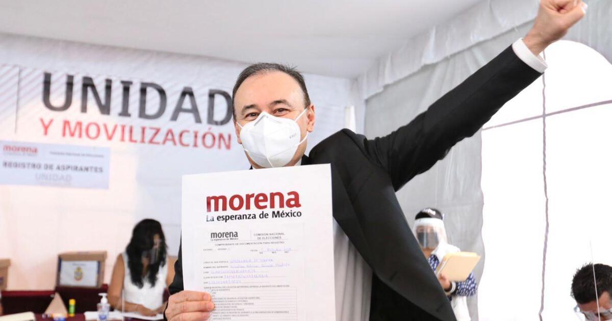 Durazo y Sandoval abren registro de aspirantes de Morena a gubernaturas