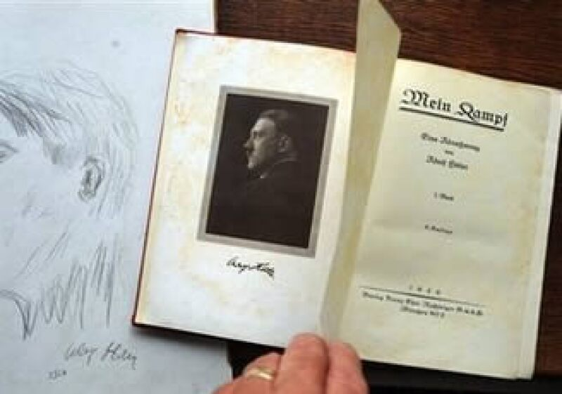 El manifiesto es una autobiografía y exposición de la ideología de Hitler. (Foto: AP)