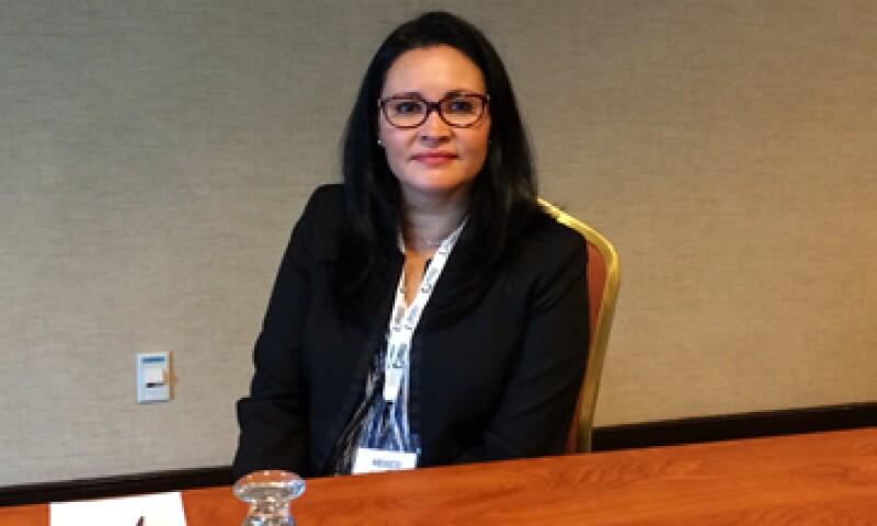 Euridice Salomé, Country Manager de McEwen Mining, dijo que la compañía también busca mejorar sus operaciones. (Foto: Ilse Santa Rita)