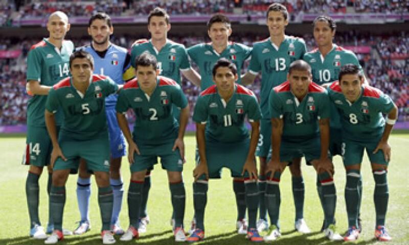 La selección mexicana olímpica tiene un valor de mercado de 33.7 millones de euros, de acuerdo con TransferMarkt. (Foto: AP)