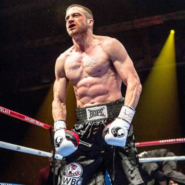 Jake Gyllenhaal es un malencarado boxeador en la película Southpaw.