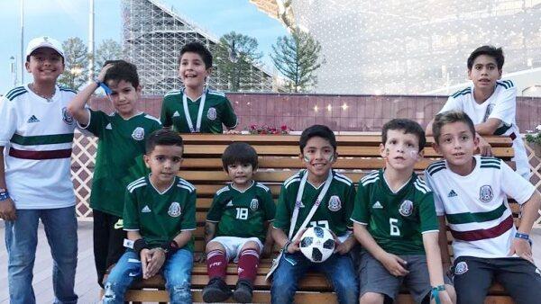 Hijos de seleccionados de México
