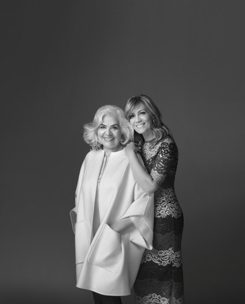 Lourdes Berho y su mamá
