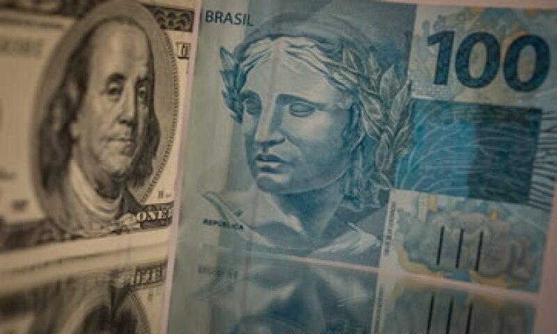 Brasil reportó un déficit de presupuesto primario de 14,460 millones de reales en agosto. (Foto: AFP)