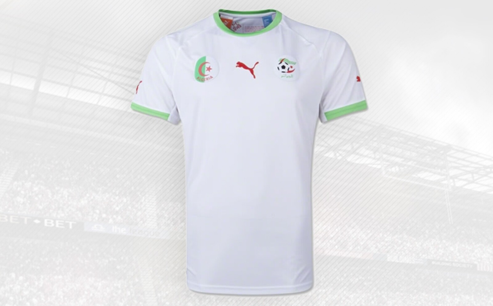 Los africanos usan la playera de Puma, firma que recuperó en las playeras mundialistas las pérdidas generadas por efectos cambiarios en 2013.