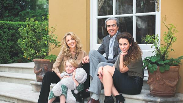 Edith González, Constanza Creel, Lorenzo Lazo y Lorenza Lazo