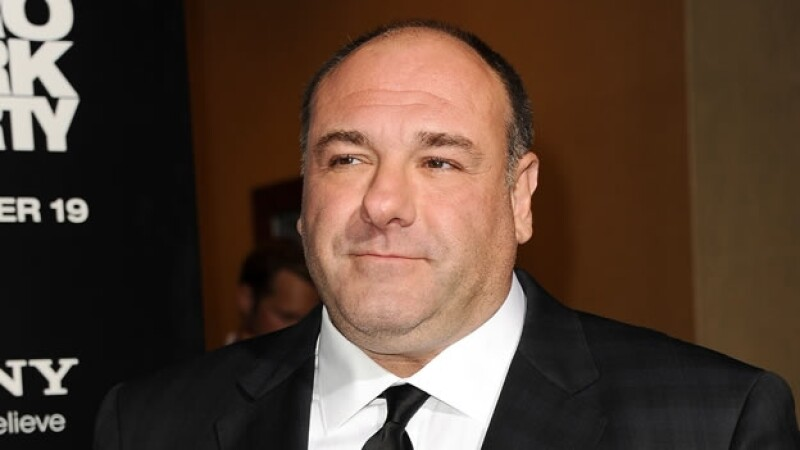 James Gandolfini en Los Sopranos