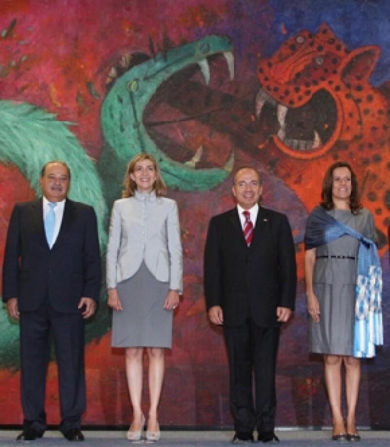 En el proyecto participarán las fundaciones Bill y Melinda Gates, el Instituto Carlos Slim de la Salud y el Gobierno de España, que fue representado por la Infanta Cristina, hija del rey Juan Carlos.