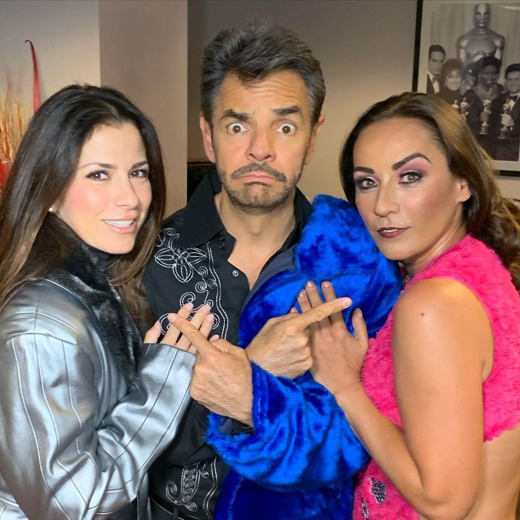 Alessandra Rosaldo, Eugenio Derbez y Consuelo Duval