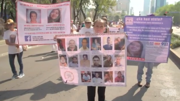 Vivir con hijos desaparecidos es morir todos los días, claman madres mexicanas