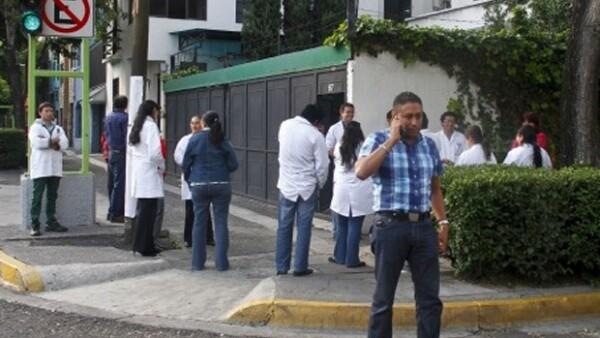 El sismo se sintió en la Ciudad de México y en el Estado de México. En la capital del país no se registraron daños.